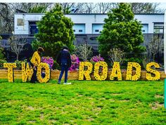 Large letters for you next business event!  #tworoads #flowercovered #navyblue #etsy #etsysale #etsyshop #uniquelyetsy #business #designsbydazey #etsian #etsians