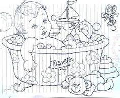 Resultado de imagem para PASSARINHO precious moments baby para colorir
