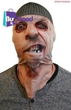 Full Face Realistic Sublimated Fabric Costume Mask - One Size Fits Most Adults 724996675164 | eBay