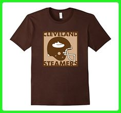 Mens Funny Cleveland Steamers Football T-Shirt 3XL Brown - Sports shirts (*Amazon Partner-Link)