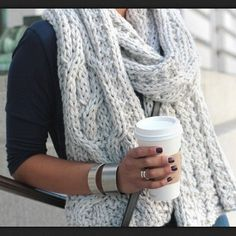 #knit scarf