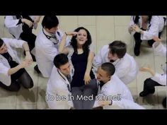 First-year students at University of Alberta's medical school have created a musical viral video that is garnering attention across Canada and beyond http://youtu.be/cTaIWU6xCmI