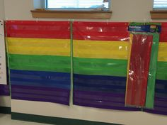 King Elementary in San Antonio ISD has found a way to show quintile data using Rainbow Pocket Charts.