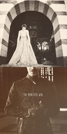 Sansa Stark and Petyr Baelish - in life the monsters win