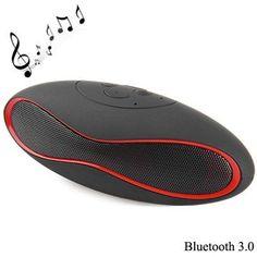 377c932989e X6U sem fio Bluetooth 3.0 telefone mãos livres Speaker Stereo Audio Player  Built-in bateria