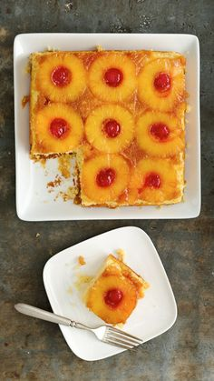 Pineapple Upside Down Cake #recipe.