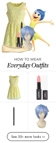 """Joy from Inside Out Everyday Outfit"" by mypassionisfashion66 on Polyvore"