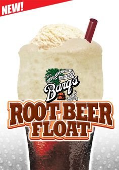 Have you tried the irresistible ‪ ‪ Barq's Root Beer Float? Come now to Carl's Jr. ‪ and enjoy its unique flavor! Bar Refrigerator, Carl's Jr, Ice Cream Floats, Beverages, Drinks, Have You Tried, Summer Treats, Vanilla Ice Cream, The Good Old Days