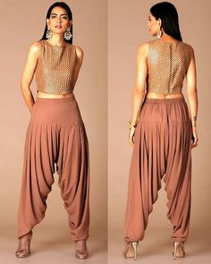 Top 6 Trendy Indo-Western Bottom Wear For Women - Shopkhoj Indian Fashion Dresses, Indian Designer Outfits, Indian Outfits, Fashion Outfits, Fashion Fall, Trendy Outfits, Kids Fashion, Summer Outfits, Fashion Trends