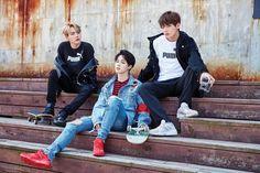 Suga, Jimin and Jungkook Taehyung, Jimin Jungkook, Bts Bangtan Boy, K Pop, Jung Kook, Rap Monster, Yoonmin, Jikook, Banda Kpop