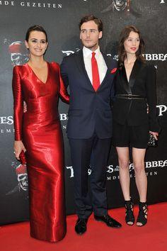 "Penelope Cruz, Astrid Berges Frisbey, Sam Claflin - ""Pirates Of The Caribbean: On Stranger Tides"" Germany Premiere 2011"