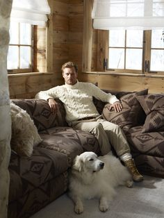 Ralph Lauren Home Alpine Lodge Cozy up to Ralph Lauren Home's Alpine Lodge Collection, inspired by the international glamour of a beautifully appointed ski chalet. Explore Now