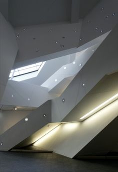 Denver Art Museum - Daniel Libeskind....and I have actually been there...it is that beautiful.