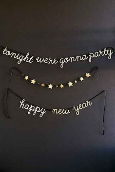 Meri Meri New Years Party Garland - Urban Outfitters