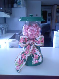 Candy Holder made from Clay Pot For Sale: $15 We are taking orders.  www.facebook.com/lhdavis68. For more Info