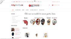 Magazin online aplicatii Web Site si Excel, Ceasuri de mana, Telefoane, Tablete