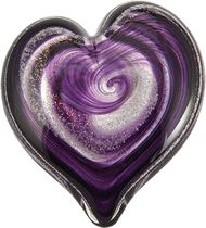 Celebration Ashes CA415 Purple/Gold Cremation Ash Memorial