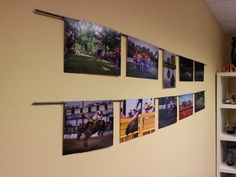 Magnetic Photo Wall - Started - Dogberry Patch