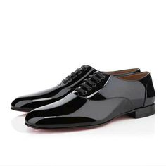Uomo Christian Louboutin Frossoo Patent Nero Outlet Milano 1744a459862