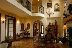 Spanish style home interior
