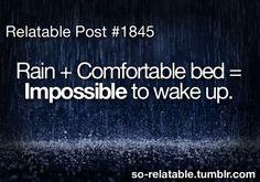 Comfort....