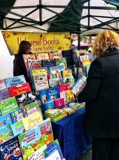 Local Usborne Books stall at Holywood Christmas Fair 2012