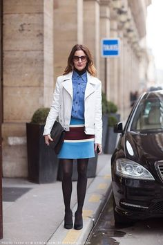 Blue, fashion