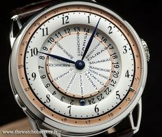 Montre de luxe De Bethune DB25 World Traveller