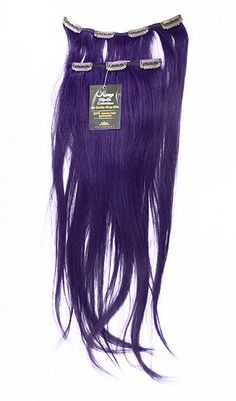 "79,00 € Violetti Clip-on Aitohiuspidennys 5-os 80g 20"" - Purple"