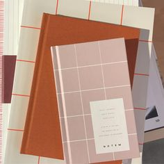 Terracotta + Blush Color Combo The Color Kind Stationery Paper, Stationery Design, Stationery Brands, Boutique Interior, Book Design Graphique, Material Design, Layout Design, Print Design, Design Art
