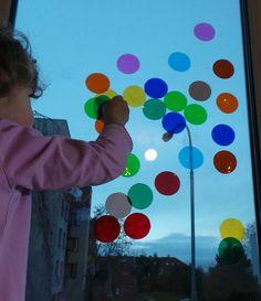 barevna okenni folie