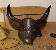 Minotaur Mask by Azmal.deviantart.com on @deviantART