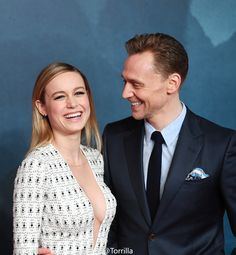 Brie Larson and Tom Hiddleston attend the European premiere of Kong Skull Island at the Cineworld Empire Leicester Square on February 28, 2017 in London. Source: Torrilla. Higher resolution image: http://ww4.sinaimg.cn/large/6e14d388gy1fd6sbp70tej224z2bcqv5.jpg
