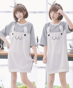"""Color:light gray. Size:free size. Length:78cm/30.42"""". Bust:100cm/39.00"""". Sleeve length:39cm/15.21"""". Fabric material:cotton. Tips: *Please double check above size and consider your measurements before"""