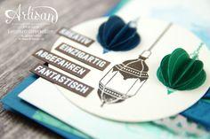 Stampin´ Up! - Artisan Design Team - Moroccan Nights - Designerpapier Marokko - Bannerweise Grüße - 2