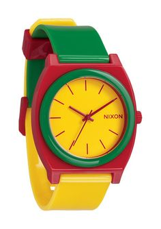 The Time Teller P, #multicolored #steel #plastic #watch #wristwatch, @NIXON