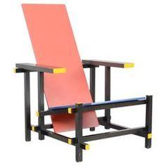 Rietveld Stuhl rot blaue stuhl gerrit rietveld