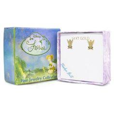 Disney Jewelry Music Box Tinkerbell Trinket Childs Fairies Treasure