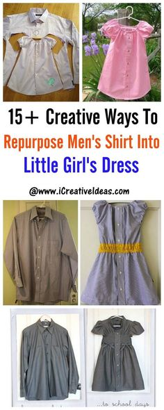 One of my favorite DIY projects is the trash-to-treasure project. Do you have any old men's shirts that are taking up space in your closet? There are many creative ways for you to reuse them. For example, how about turning them into little girl's dresses? Here are 15+ creative ways …
