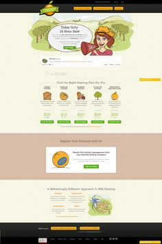 Clean design. Very short menu - provides more interaction. Good pastel colours. Product focused and good service descriptions and call-outs. More popular services laid out on the left (services row with 5 columns).