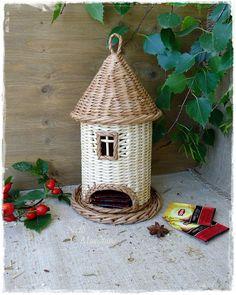 Чайный домик, высота 27 см с петелькой. от Нелли Муратовой