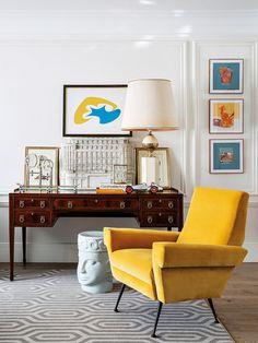 〚Bold apartment of the extravagant architect Jean Porsche in Madrid〛 . - Home Interior Design Contemporary Interior Design, Luxury Interior Design, Contemporary Furniture, Decoration Entree, Colorful Apartment, Deco Addict, Retro Home Decor, Beautiful Interiors, Home Decor Inspiration