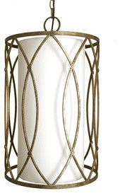 3-Light Hulton Specialty Pewter Chandelier by Lowes contemporary chandeliers