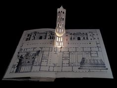 Five Luminous Towers, A Book to be Read in the Dark, by Carol Barton