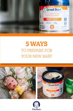 Prep for your new baby by stocking up on Gerber® Good Start® GentlePro Formula—now with new, easy-to-use packaging! Modeled after the complete nutrition and gentleness of breastmilk, it's perfect for supplementing your own milk. Plus, it is the first and only formula with both prebiotics and probiotics to promote gut health in tiny tummies. Save now at Target.