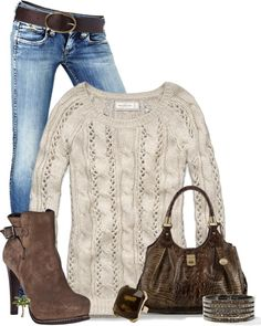 """""""Cozy Sweater"""" by cindycook10 on Polyvore"""