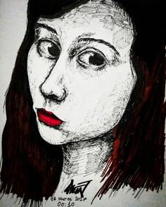 Facedrawing #face #sketch #drawing