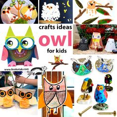 OWL- Crafts ideas for kids