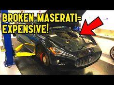 MASERATI GranTurismo Major Service is $2,000, SO WE DID IT OURSELVES!!! - YouTube 2014 Maserati Granturismo, Air Drone, Brake Fluid, Normal Guys, Vacuum Pump, Oil Filter, Dashcam, Car Ins