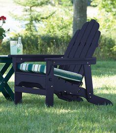 Adirondack chairs everywhere.